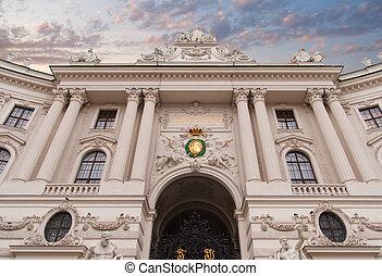 Hofburg palace, Vienna, Austria - Vienna, Austria Hofburg...