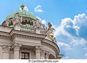 Hofburg palace, Vienna, Austria - Vienna, Austria. Hofburg...