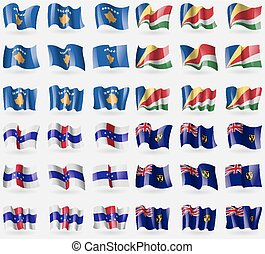 Kosovo, Seychelles, Netherlands Antilles, Turks and Caicos...