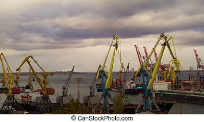Sea Trading Port Activity - Sea Trading Port Activity at...