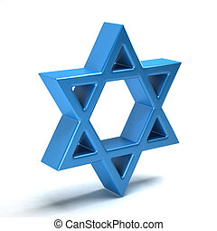 Star of David, judeism symbol