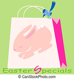 Easter  Specials - This is the bag with Easter Bunny