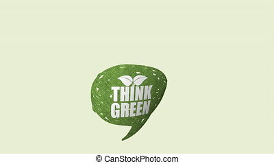 Think green design, Video Animation HD1080