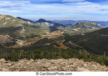 Rocky Mountain National Park - Rainbow Ridge in Rocky...