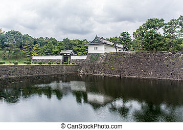 imperial palace of Japan