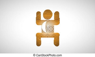 african icon design, Video Animation HD1080