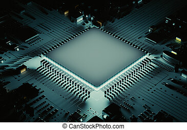 The powerful microprocessor - The microprocessor circuit...