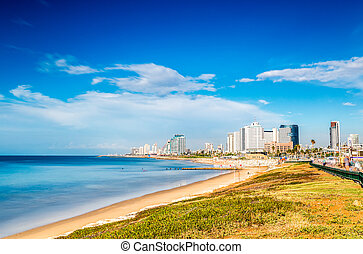 Tel Aviv Panorama, Israel - Tel Aviv Panorama taken from the...