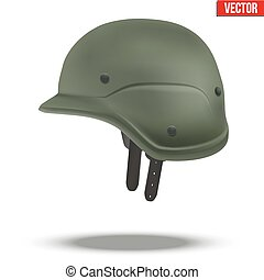 Military tactical helmet green color - Military tactical...