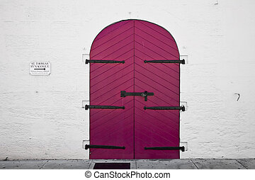 Door in Charlotte Amalie - USVI