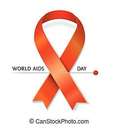 Vector AIDS ribbon
