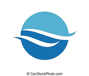 Water wave Logo