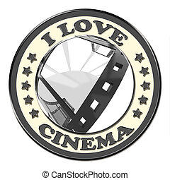 I Love Cinema button