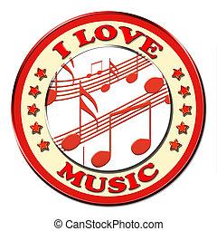 I love musicbutton