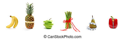 Fruit and vegetable parade