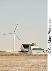 Indiana Wind Turbine Turns Over the Family farm