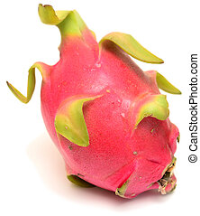 Pitahaya - Isolated on white Pitahaya