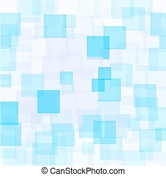 Abstract Azure Squares Background Abstract Azure Squares...