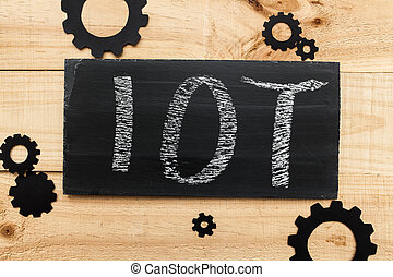 Internet of things - The image represents the concept of...