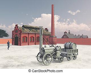 British steam locomotive from 1829