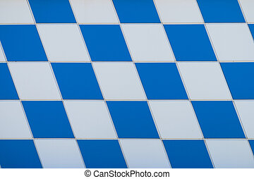 chessboard - white-blue chessboard