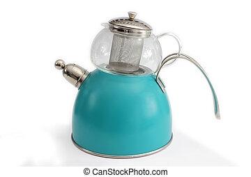 Teapot - Tea Kettle with Clipping Path