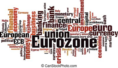 Eurozone [Converted].eps - Eurozone word cloud concept....