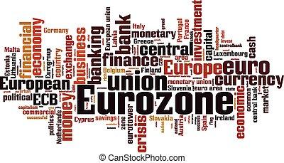 Eurozone [Converted].eps - Eurozone word cloud concept....
