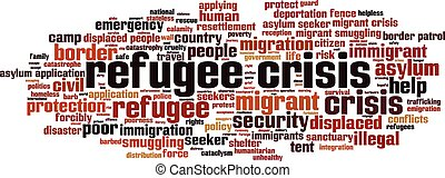 Refugee crisis-horizon [Converted].eps - Refugee crisis word...