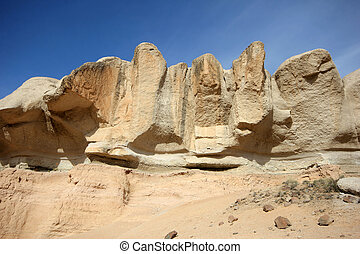 Rock formations Turkey