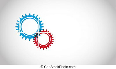 Gear icon design, Video Animation HD1080