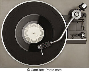 Record player with phonorecord - Record player with vinyl...