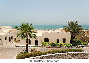 Holliday villas at the luxury hotel and palm, Ras Al...