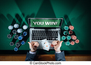 Successful online poker player