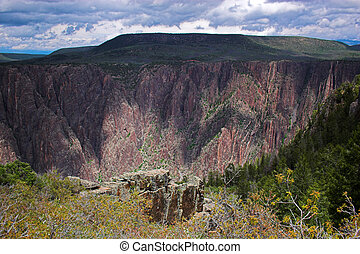 Gunnison national park gorge - Black Canyon of Gunnison...