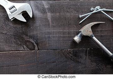 Tools still life