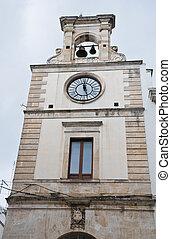 Clocktower Putignano Apulia