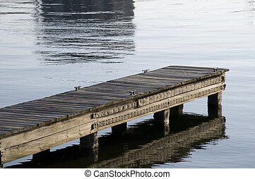 Dock on Indian River