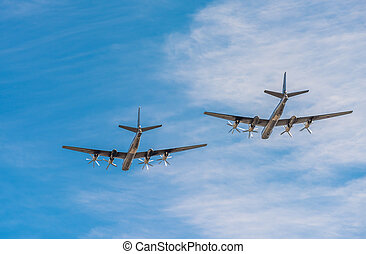 Tupolev Tu-95mc, russian strategic bombers