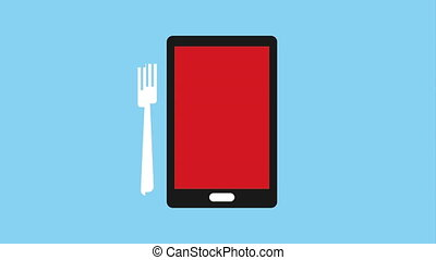 Buy food online, Video Animation HD1080