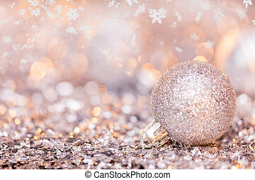 Super macro photo of christmas decoration, low depth of...