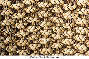 Rattan background - Rattan surface. Texture or background