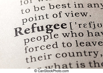 refugee - Fake Dictionary, Dictionary definition of the word...