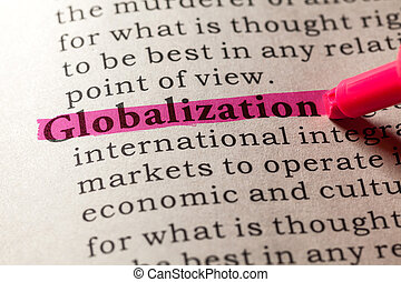 globalization - Fake Dictionary, Dictionary definition of...