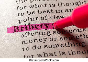 bribery - Fake Dictionary, Dictionary definition of the word...