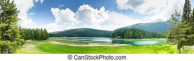 Crno Jezero, Montenegro - Beautiful view of Crno Jezero...