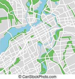 Ottawa - vector map of Ottawa