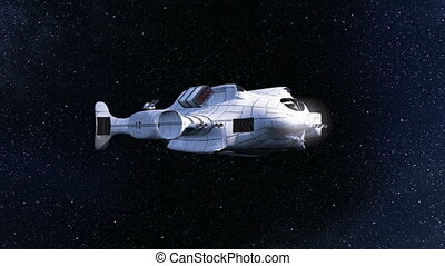 Space ship - Image of a space ship.