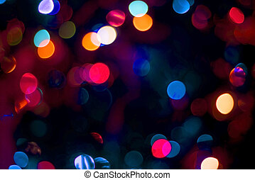 Blur party lights abstract color - Blur party decoration...