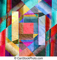abstract colorful background - Abstract bright colorful...